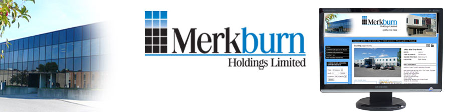 Merkburn commercial real estate web site