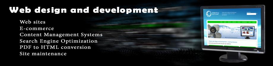 Web design and development | Interkey Solutions