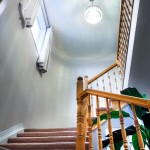 Stairwell uward view by Interkey Solutions